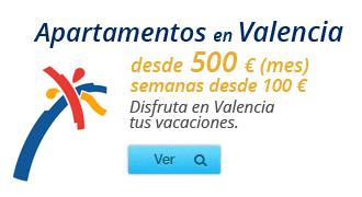 Apartamentos en Valencia